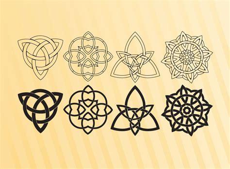 celtic design elements vector celtic symbols