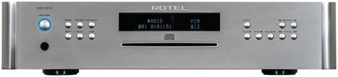 rotel rcd  cd player preview audioholics