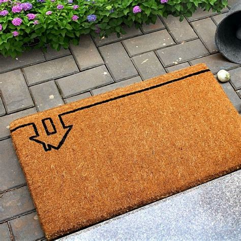 Front Entrance Mats Door Mats With Personality Styled By Bec