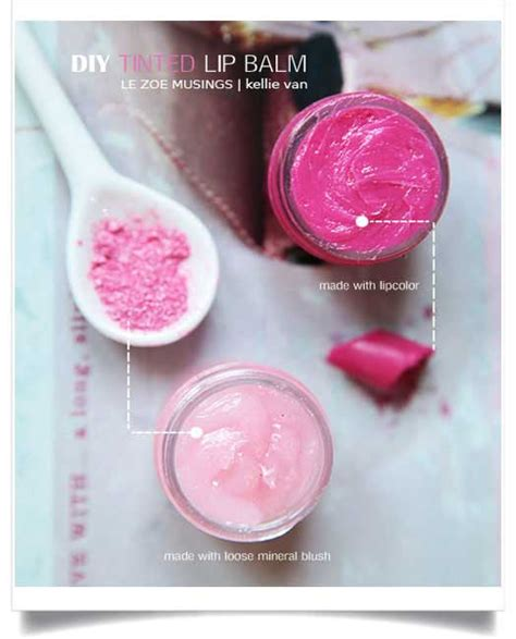 Steps For A Home Made Lip Balm by Easy Diy Tinted Lip Balm Skin Care