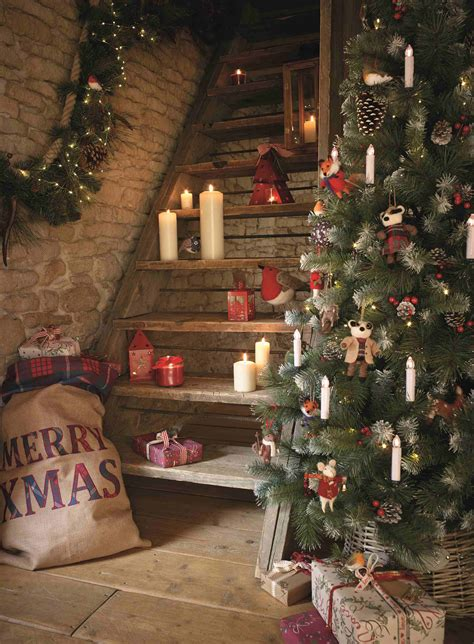 a rustic christmas living in magazines