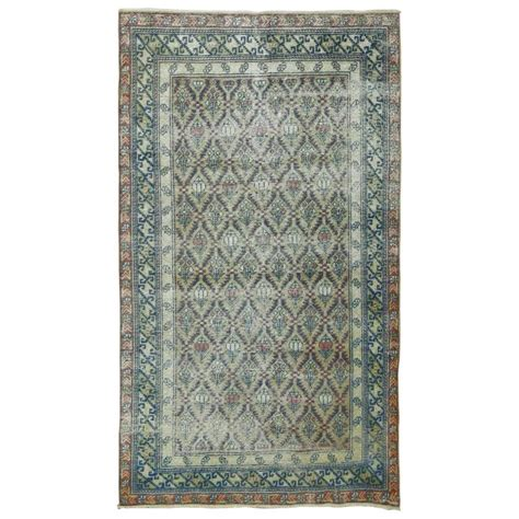 shabby chic caucasian rug for sale at 1stdibs