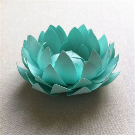 How To Make A Paper Lotus - paper lotus flowers make me happy