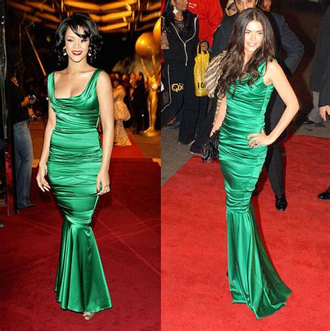 Who Wore Dolce Gabbana Better George Or Rowland by Who Wore It Better Dolce Gabbana Emerald Green Satin