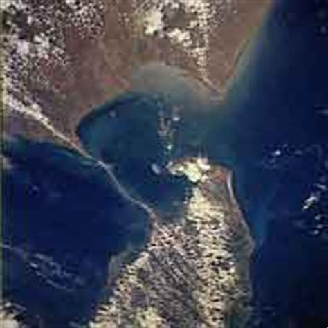satellite image of ram setu environment south asia superstition may yet save marine