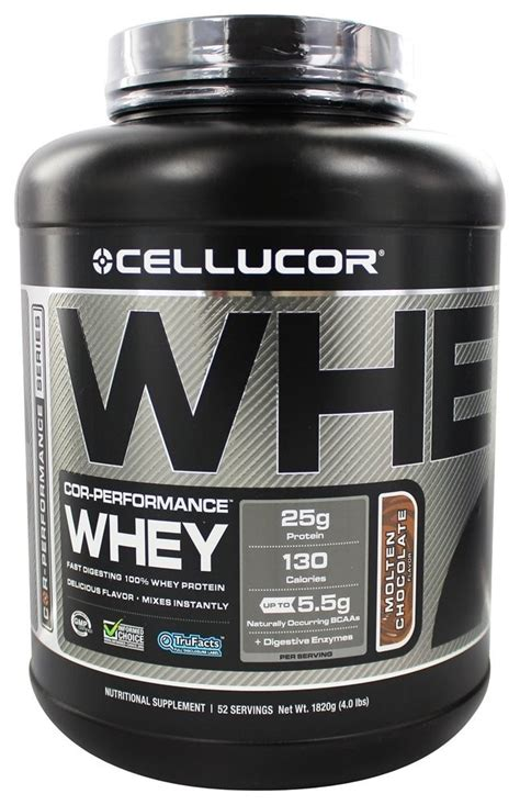 Cellucor Whey Protein Cellucor Cor Performance Whey Protein Chocolate 4 Lb