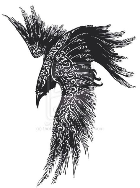 raven feather tattoo designs best 25 celtic ideas on viking