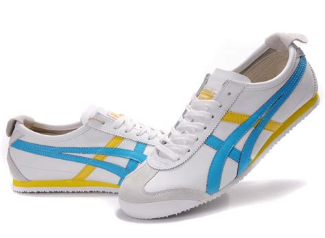 Onitsuka Tiger Mexico 66 Black List Blue White Navy Blue Yellow Onitsuka Tiger Mexico 66 Shoes