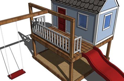 ana white swing set ana white playhouse back wall diy projects
