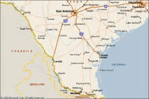 where is mcallen on the map mcallen route