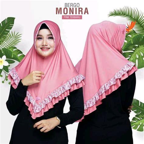 hijab instan warna pink tutorial hijab terbaru