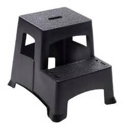 easy reach by gorilla ladders plastic 2 step project stool