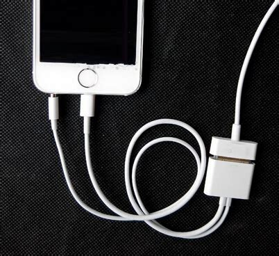 Murah Apple Charging Charger Dock 30 Pin For Iphone 4 8 pin to 30 pin dock 3 5mm ihome audio charger adapter converter cable for apple iphone 6 plus 5