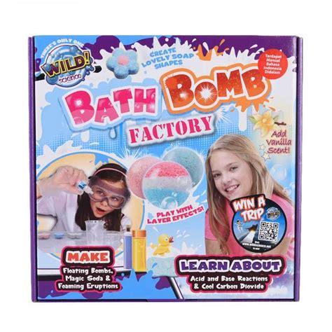 Produk Terlaris Mainan Edukasi Bomb Seru jual wildscience bath bomb factory mainan edukasi anak harga kualitas terjamin