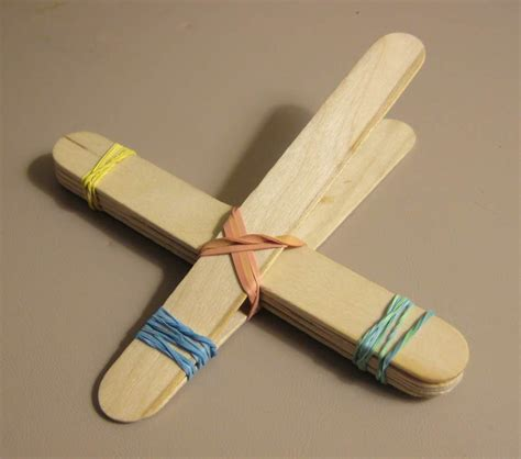 how to build a simple how to build a catapult with popsicle sticks www