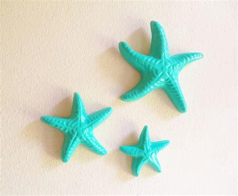 Starfish Wall Decor by Sea Glass Green Starfish Wall Decor Nautical Decor Starfish
