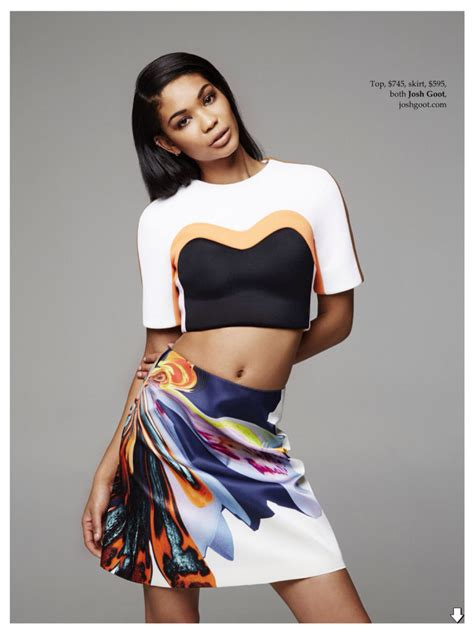 Fab Chanel Iman by Fab Fashion Chanel Iman Is Quot Tropical Quot In Fashion