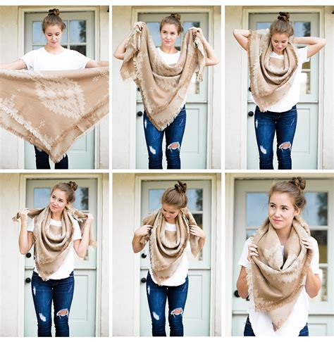 how to drape a scarf around your neck lonestar southern dallas fashion blogger