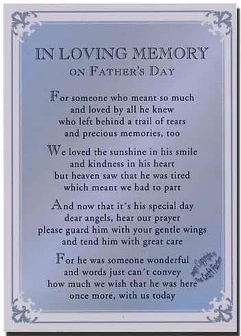 fathers day quotes for deceased from best work quotes fathers day poems for deceased dads