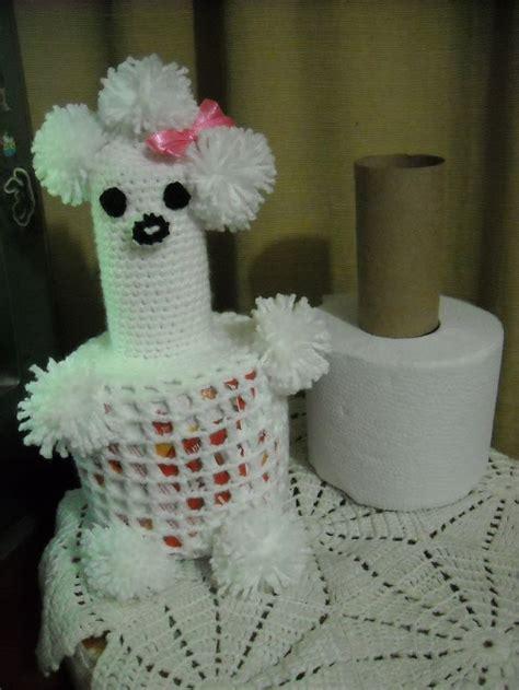 porta rollo para cocina a crochet 17 best images about porta rollos tejidos on pinterest