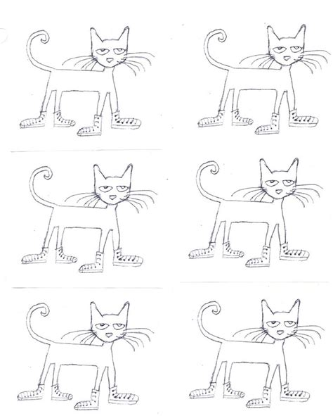 printable pete the cat designs fonts frames for