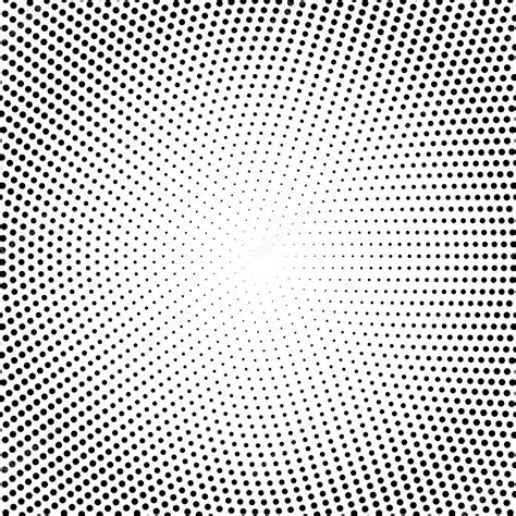 halftone pattern web vector halftone dots black dots on white background