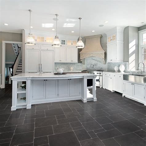 white kitchen floor ideas kitchen flooring ideas that match kitchen worktops
