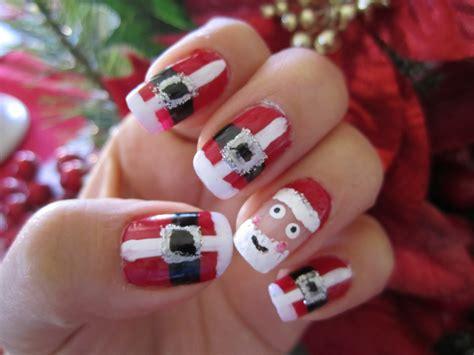 imagenes uñas acrilicas de navidad 10 ideas para u 241 as navide 241 as 1001 consejos