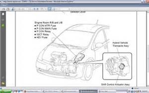 Brake System Toyota Prius 2005 Prius Cannot Start Malfunction C1202 Brake Fluid