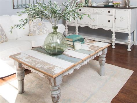Shabby Chic Living Room Tables Living Room Shabby Chic Coffee Table Ideas