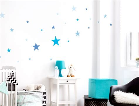 Kinderzimmer Tapete Junge 230 by Kinderzimmer Sterne Blau Www Saborbrickell