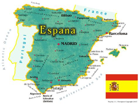 espana map spain map and fact sheet hip travel guide