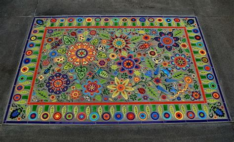Outdoor mosaic carpet   Eclectic   Patio   seattle   by