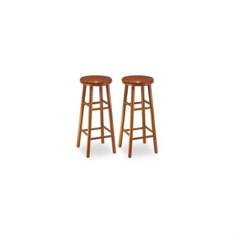 30 backless bar stools winsome 30 quot backless swivel cherry set of 2 bar stool ebay