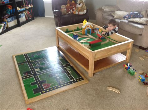matchbox car play table car table do it yourself home projects from
