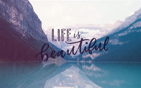 Life is beautiful free desktop wallpaper amy o donnell