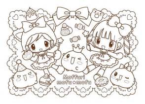kawaii coloring pages mofu mofu coloring pages kawaii ilustraciones y