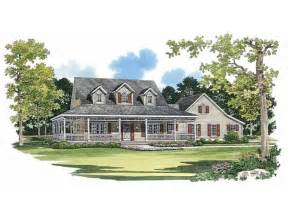Country House Plans With Porches by Picturesque Porch Hwbdo02244 Farmhouse Home Plans From