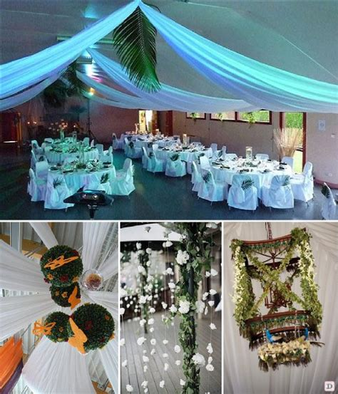 Decoration Plafond Salle De Mariage by Idees Decoration Salle Mariage
