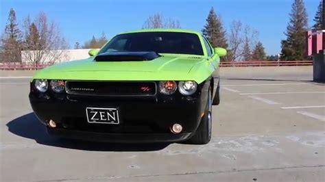 green and black challenger 2012 dodge challenger r t plus custom rumble bee black