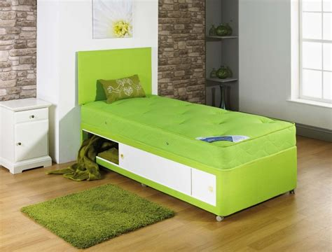 lime green headboard 2ft6 3ft single tufted lime green divan bed with tufted