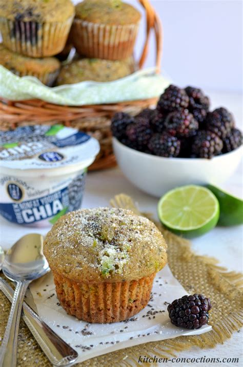 blackberry lime tea with chia peanut butter plus chocolate blackberry lime chia seed muffins kitchen concoctions