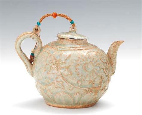 Rumauma Ceramic Tea Pot Set Wave Pattern asian april 2015