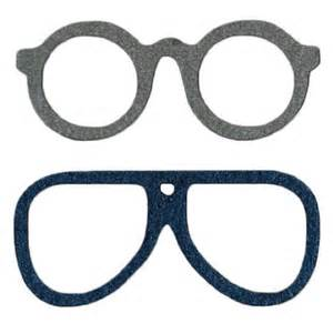 glasses template lifestyle crafts die cutting template glasses
