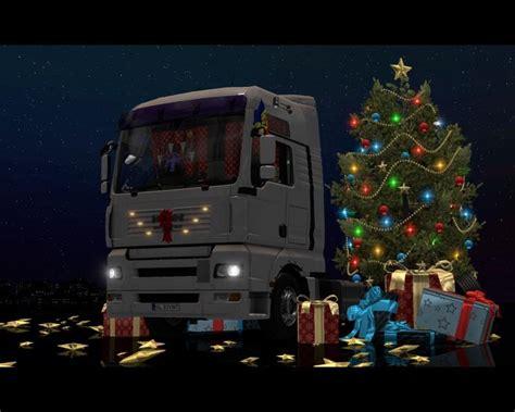 christmas dlc  man trucks  ets mods
