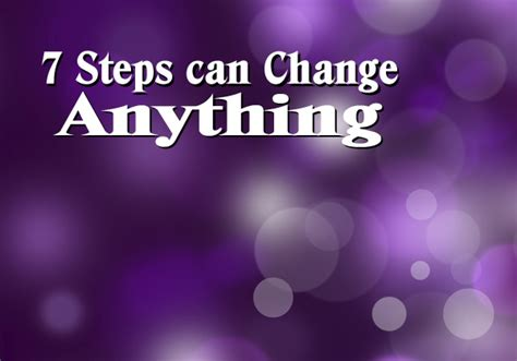 anything is possible 7 steps for doing the impossible books 7 steps can change anything