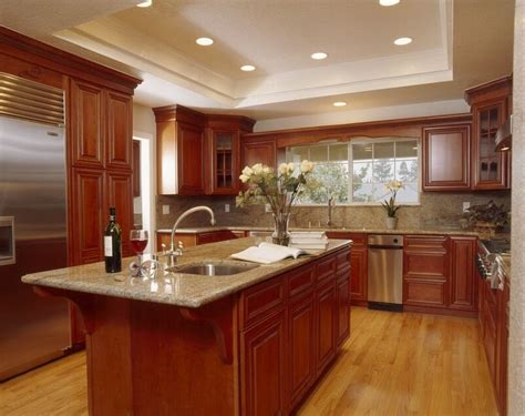 cherry kitchen cabinets classy and stylish rustic kitchen rustic kitchens with cherry cabinets elegant kitchens