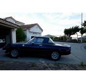 Alfa Romeo Spider Convertible 1976 Black For Sale