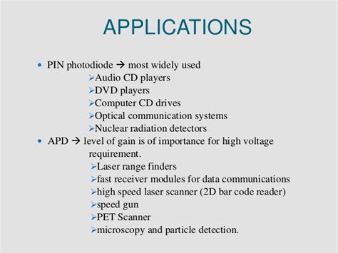 advantages of photodiode disadvantages of photodiode 28 images ipc nee 303 ppt even sem photodiode array detection