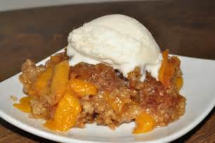 Peach Cobbler by Crock Pot Peach Cobbler Wishes And Dishes